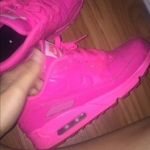 Custom All Pink Air Maxes